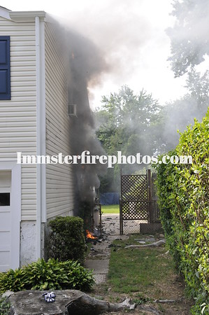 BETHPAGE FD FARMERS AVE HOUSE FIRE 7-13-12