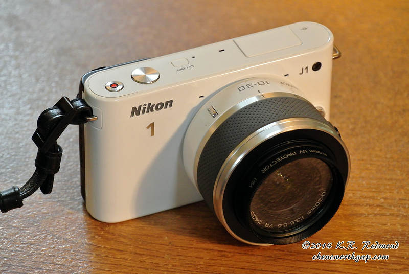 The New Nikon 1 J1 with a 10 - 30 mm VR Lens