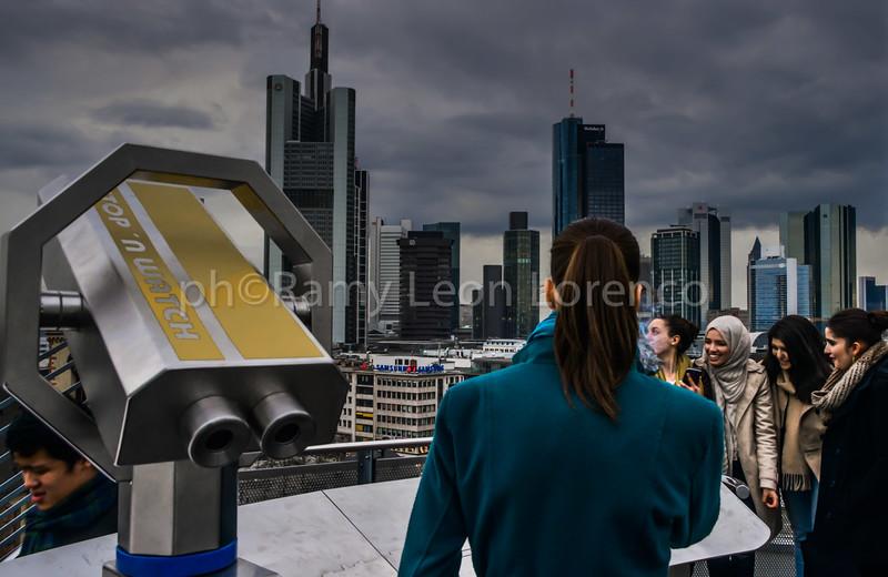 Frankfurt-Smoke on the top