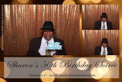 Sharon's 50th Birthday Soiree