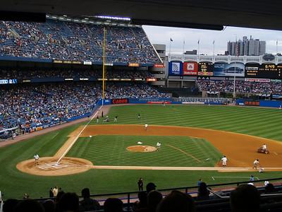 Yankees vs. Boston and Toronto -August 2008