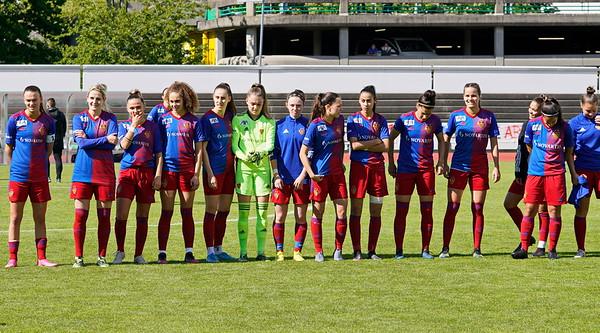 FC Basel 1893 Frauen -  FC Lugano Femminile / 2:1 / 22. Mai 2021