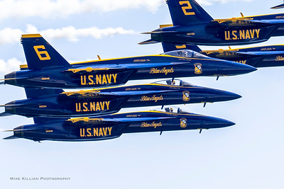 Blue Angels Return to Pensacola to Begin 75th Year of Flying
