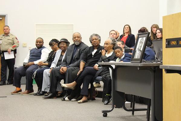 12-18-2015 Johnson Family at Board Meeting