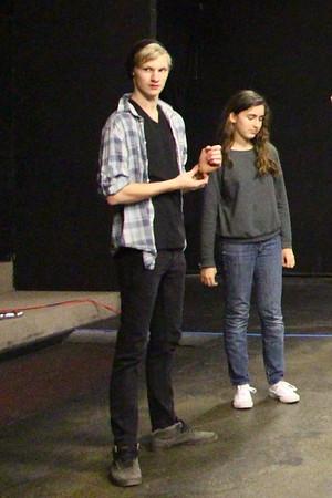 Hamlet theater Rehearsal Jan 21