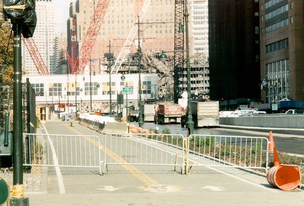 World Trade Center - Thanksgiving, 2001