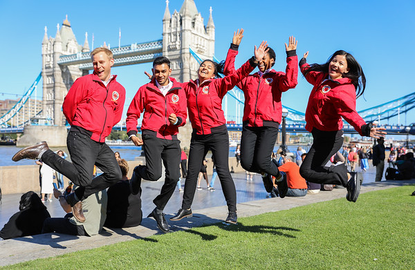 City Year UK Opening Day Team Photos 2019