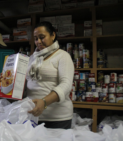 St. Michael Food Pantry 2012