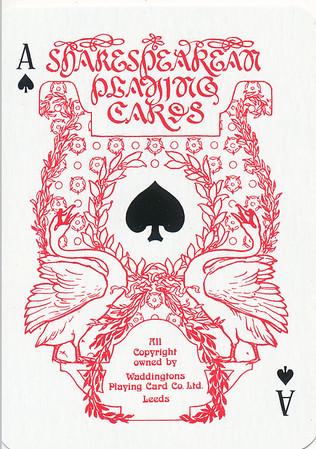 Waddington's Shakespearean Playing Cards