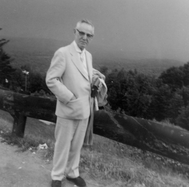 Uncle Erich Seifert, Hogback Mountain, Vermont