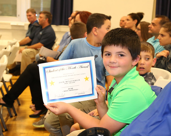June 6, 2017 Bd of Ed Awards - Jack student of mth