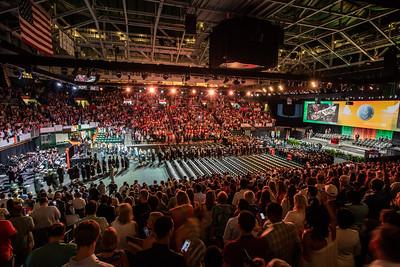 Ceremony Overhead