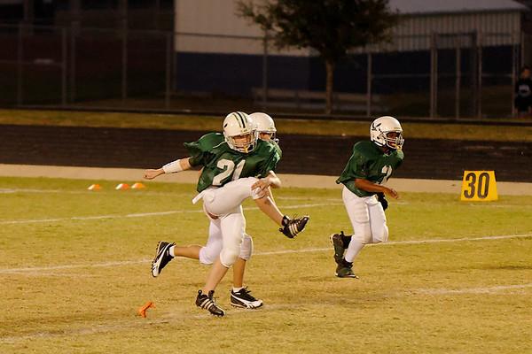 Chandler's football game - 21 October, 2008