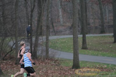 10K at 0.75 mile mark - 2012 Ann Arbor Turkey Trot