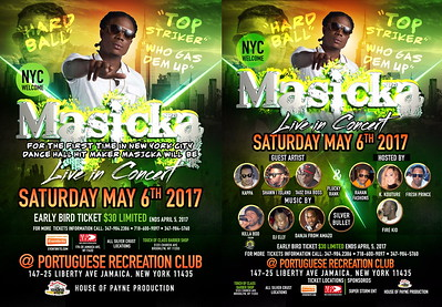 """HOUSE OF PAYNE PRESENTS """"MASSIKA IN CONCERT 2017""""(20)"""