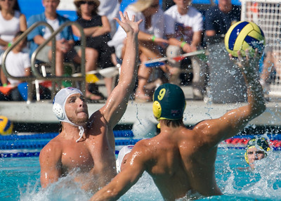 USA Men vs Australia 6/8/08 at the Elings Aquatic Center at Dos Pueblos High School in Goleta, California. Final score 9 to 11. Photos by Johnny Sarena.
