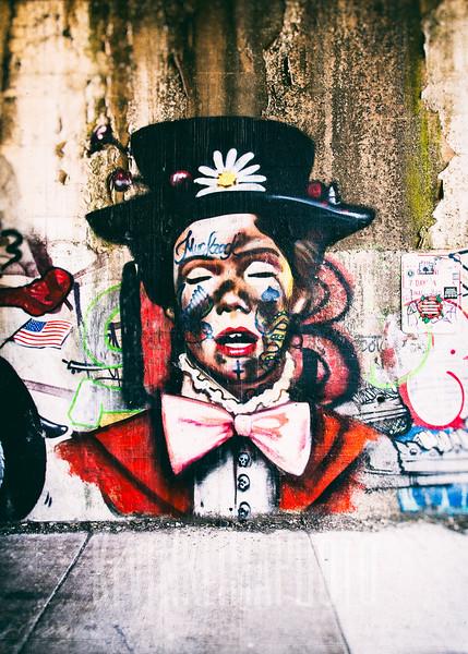 Mary Poppins Street Art