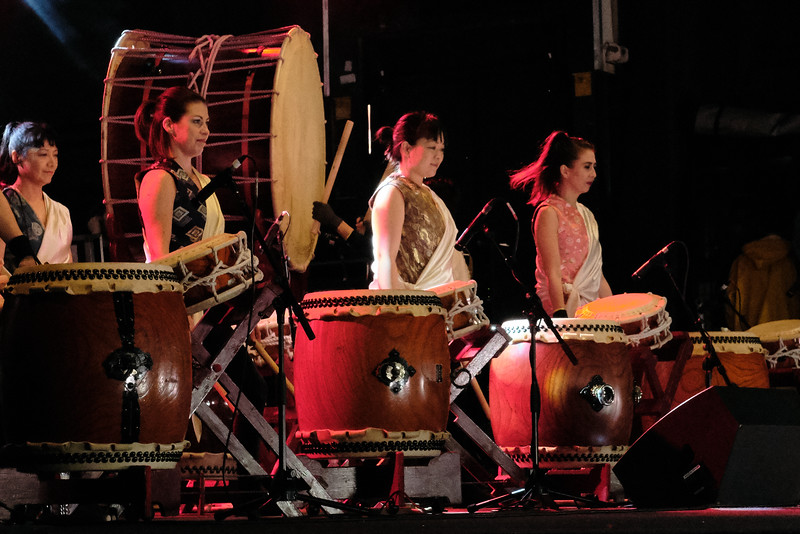 Joji Hirota and the London Taiko Drummers