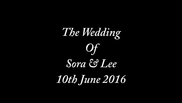 Sora & Lee Wedding video