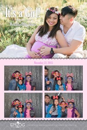 Welcome Baby Eliana (prints)
