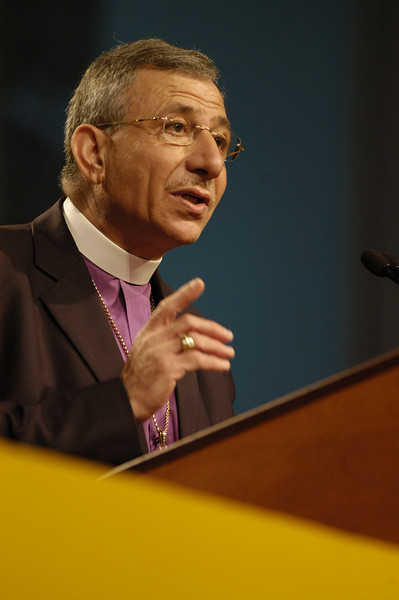 Bishop Munib Younan of the ELCJHL