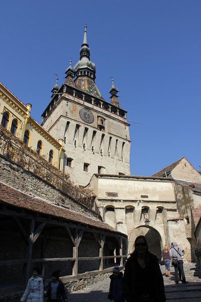 The 'real' Dracula, Vlad the Impaler was born in this cool town, Sighisoara.