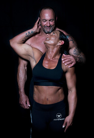 Rick  And Angela Bodybuilding Photo Shoot
