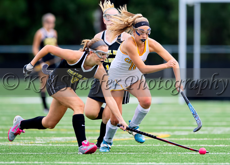 The Chapel Hill Tigers played the Cardinal Gibbons Crusaders in Field Hockey on Monday, September 15, 2014 in Raleigh, N.C.