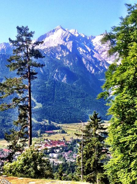 Alpspitze (iPhone 4, camera+ app, Clarity filter)