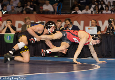 133 NCAA Champion, Tony Ramos (Iowa) def. Tyler Graf (Wis.)