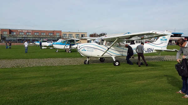 Clubvlucht Texel 18 oktober 2014