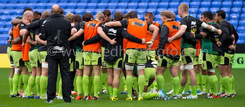 London Irish vs Northampton Saints, Aviva Premiership, Madjeski Stadium, 4 October 2014