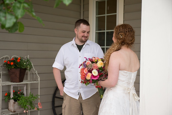 Country, Garden, Backyard, Michigan Wedding Photography