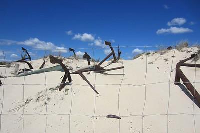 Tuesday 22 March 2016 : Graveyard of the Anchors [Cemiterio das Ancoras], Praia do Barril, Tavira Island [Ilha de Tavira], Algarve