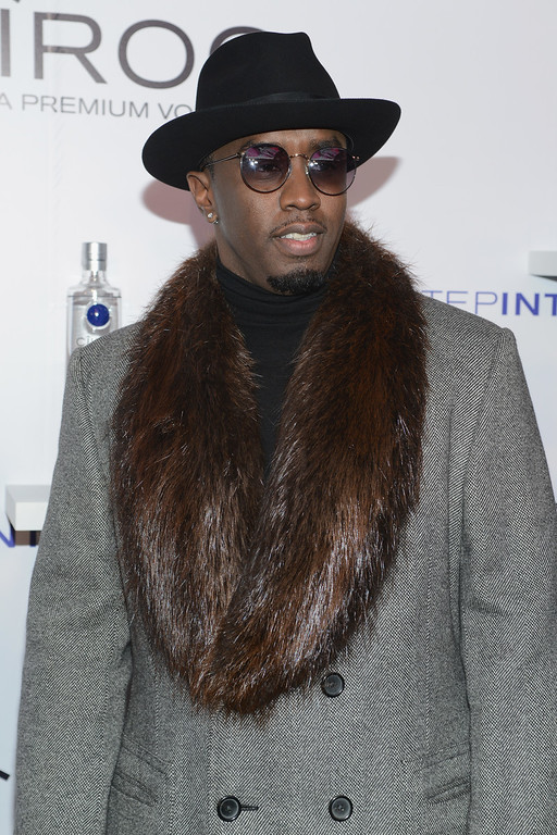 ". Sean Diddy Combs attends CIROC ""Step Into The Circle\"" Launch hosted by Sean Diddy Combs in Times Square on November 19, 2014 in New York City.  (Photo by Michael N. Todaro/Getty Images for CIROC)"
