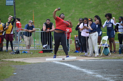 Boys and Girls Shot Put