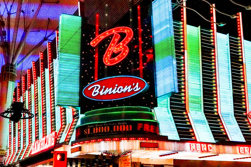 Binion's Casino, Las Vegas Photowalk
