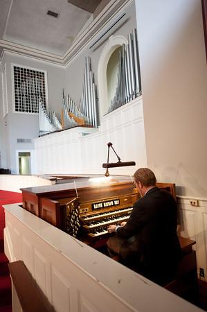 Organ in Belmont Hights Baptist Church