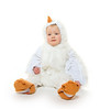little boy in chicken suit