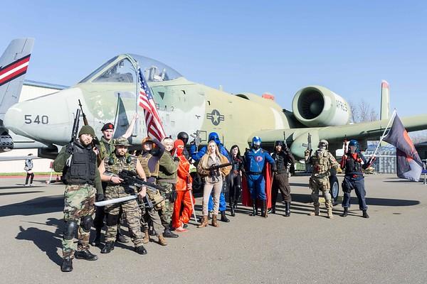 Cobra 1st Legion at Air Museum