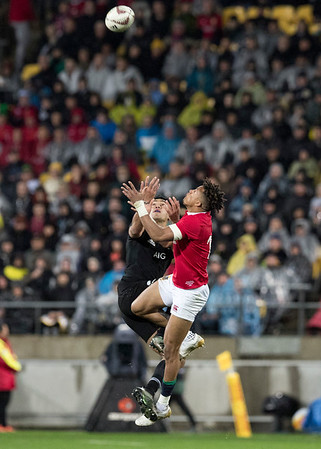 Anthony Watson  during game 9 of the British and Irish Lions 2017 Tour of New Zealand, the second Test match between  The All Blacks and British and Irish Lions, Westpac Stadium, Wellington, Saturday 1st July 2017 (Photo by Kevin Booth Steve Haag Sports)  Images for social media must have consent from Steve Haag