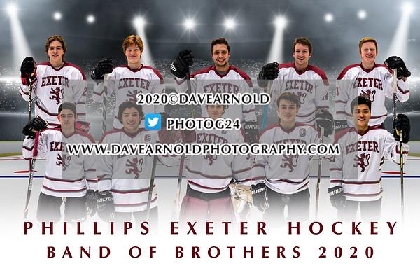 2/23/2020 - Boys Varsity Hockey - Exeter Seniors