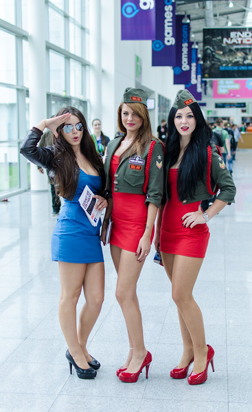 Wargaming.net girls @ Gamescom 2012