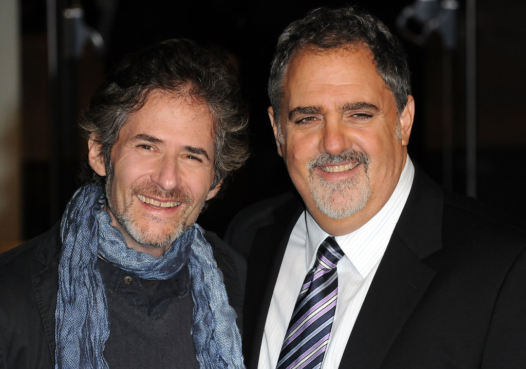 . James Horner and John Landau attend the World Premiere of Avatar at Odeon Leicester Square on December 10, 2009 in London, England. (Photo by Eamonn McCormack/Getty Images)