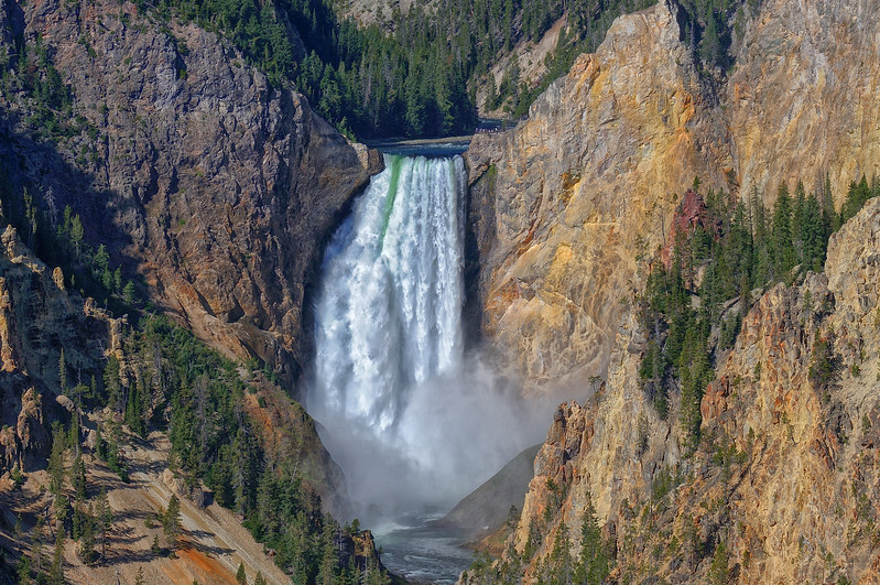 Falls of the Yellowstone