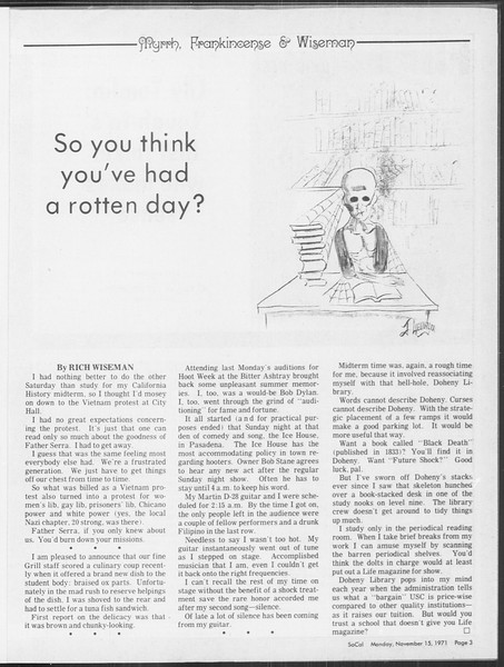 SoCal, Vol. 64, No. 38, November 15, 1971