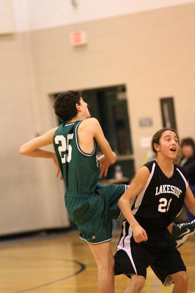 8th grade boys basketball vs plummer
