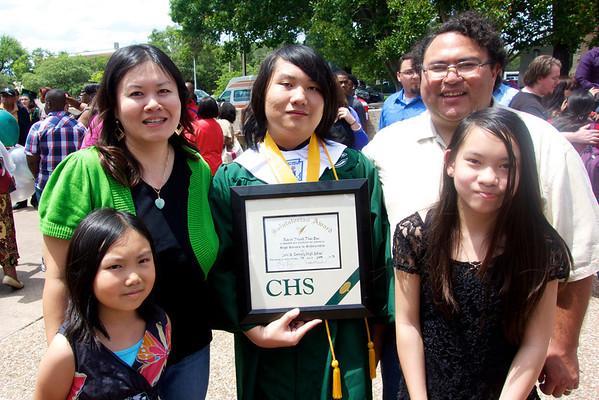 Kevin's High School Graduation