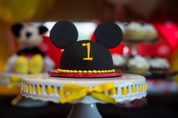 Confetti and Wishes Mickey Mouse Party