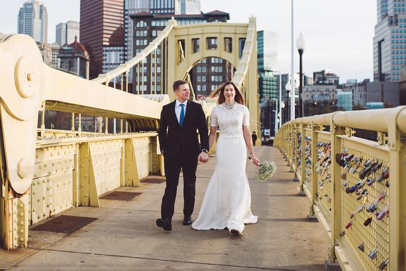 Pittsburgh Elopement Photographer - Monaco Bridge Downtown - Hadley-251.jpg